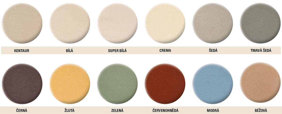 Barveník keramických písků